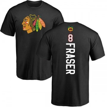 Men's Curt Fraser Chicago Blackhawks Backer T-Shirt - Black